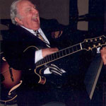Bucky Pizzarelli. Great guy, amazing player.