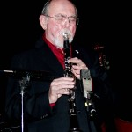 The great clarinetist Chuck Hedges. Chuck was instrumental in helping me get into the jazz festival scene. I miss him and his wonderful fearless playing.