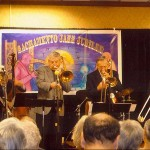 What fun. A four trombone set in Sacramento 2009 - I'm in great company with Bill Allred, Bob Havens & John Allred.